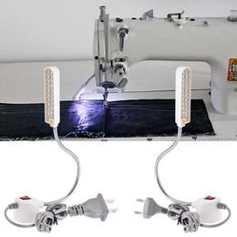 2019 lâmpadas base magnética led 12/20 / 30LED Luz Da Máquina De Costura Portátil LEVOU Base de Montagem Magnética Lâmpada Gooseneck para Todos Máquina De Costura de Iluminação lâmpadas base magnética led barato