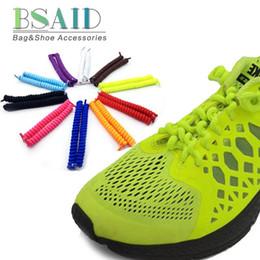 BSAID No Tie Shoelaces Printemps Bouclés Stretch 120cm Candy Enroulé Élastique Chaussure Lacets Pour Femmes Hommes Sneakers Adulte Enfants Casual Chaussures ? partir de fabricateur