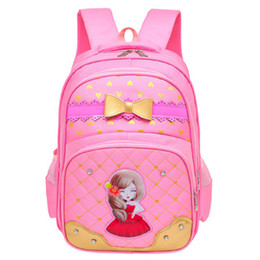 free baby packs Promo Codes - Cool Baby 2018 Girls School Bags Children Nylon Backpack Primary Book Bag Girl Schoolbook Pack Free Shipping D296