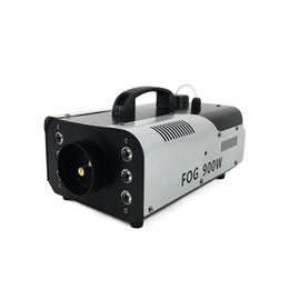 Máquina de niebla etapa online-SHEHDS 900W LED Fogger Smoke Machine Efectos atmosféricos LED 3IN1 Máquinas de niebla de luz con controlador para fiesta Live DJ Bar Stage