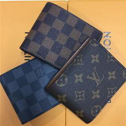 cartera de avestruz genuina Rebajas billetera diseñador billetera para hombre billetera de lujo monedero de negocios monederos diseñador bolsos de lujo bolsos monederos con caja naranja 1116