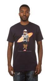 Cucharada de los hombres t shirt online-Último 2018 para hombre Moda Akoo Negro Palm Slick Scoop BTM Camiseta 100% algodón de impresión casual manga corta hombres camiseta o cuello
