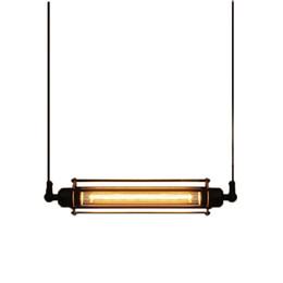 2019 polia luzes pendentes cozinha Sótão Luzes Pingente de Metal Luminária Pendant Vintage Bar Suspensão Da Cozinha hanglamp E27 Edison Luminárias polia luzes pendentes cozinha barato