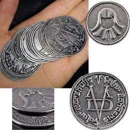 Monete di troni di gioco online-Game of Thrones Cosplay Coin Valar Morghulis Faceless Iron Man Coin11