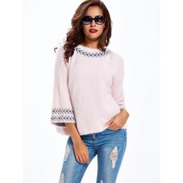2020 maglioni scolastiche Maglioni Donna Inverno Morbido Warm Jumper Top Fashion Autunno Streetwear Maglieria allentata Pullover Girl Casual School Pink Sweaters maglioni scolastiche economici