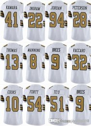 SAINTS New Orleans  9 Drew Brees  41 Alvin Kamara  13 Michael Thomas  8  Archie Manning Men Women Youth Color Rush Elite Football Jerseys a55fd5ed1