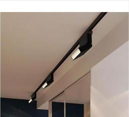 2019 iluminación de la tienda fría La lámpara del proyector del carril de la MAZORCA de la luz de la pista del LED 6W 12W llevó el bulbo del punto del accesorio del seguimiento para la exposición de la alameda de la tienda