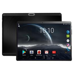 """Закаленное стекло 2.5 D 10-дюймовый планшетный ПК Android 7.0 Octa Core 4GB RAM 64GB ROM 5.0 MP 1280 * 800 IPS 3G 4G LTE Tablet 10.1 """" + подарки от Поставщики sim, вызывающий планшетный фарфор"""