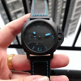 2019 мужские 47мм роскошные часы Дизайнерские Мужские Часы PAM00700 Импортированные Автоматические Механические Механизм 316L Стальной Корпус Случайный Кожаный Ремешок 47 мм 16 мм Спорт Роскошные Часы X404 дешево мужские 47мм роскошные часы