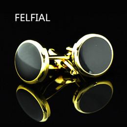 Jóias camisa francesa abotoaduras para homens Designer de Marca Cuffs link Botão masculino de Ouro de Metal de Alta Qualidade de Luxo Casamento Frete Grátis de