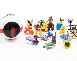 2019 capitão cracas Brinquedo das crianças Pet Elf Bola Com Monstro de Bolso Pet Figuras Tesouro Sonho Brinquedos Quarto Mobília Brinquedos PokeBall Para Crianças Figuras brinquedo