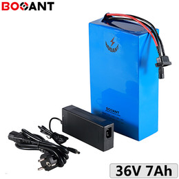 2021 pacote de bateria 3.6v 10s 36V 7Ah 250W motorcycle / Scooter Lithium battery pack for Sanyo 18650 with 2A Charger