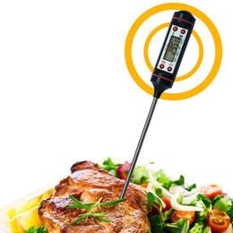 Venta al por mayor Leche para bebé Termómetro de cocina Herramientas de alimentos Alimentos Termómetros de cocina digitales para barbacoa Cocina electrónica Sonda de alimentos Carne Agua BH0867 TQQ desde fabricantes