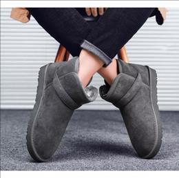 Baskets hautes femmes en Ligne-Bottes Designer pour hommes, femmes hiver gris noir marron brun bottillons genou cheville bottes chaudes confortables appartements de haute qualité espadrilles 36-45