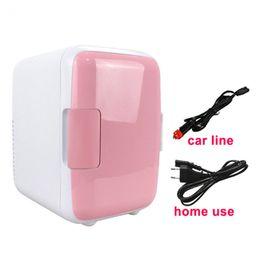 Cajas congeladoras online-Refrigeradores refrigerados Ultra silencioso Ultra silencioso para autos de uso reducido para uso doméstico de automóviles de 4 litros Refrigerador congelador Refrigerador Caja de calefacción