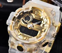 Marca de choque Top vender Ao Ar Livre homens G Esportes Relógios LED Eletrônico Digital Watch Man Cronógrafo Relógios de Pulso Relogio masculino Mini de