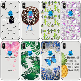 textile butterflies Promo Codes - [TongTrade] Soft Silicone TPU Case For Apple iPhone 11 Pro Max X Xs 8s 7s 6s 5 Samsung Note 10 Watermelon Fruit Butterfly Floral Cactus Case