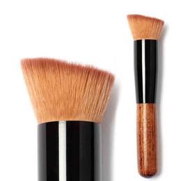 2019 utilizza spazzole trucco Pennello multifunzione per fondotinta liquido Pro foudation Pennello per trucco BB Cream Blash Spazzole Cosmetici di bellezza 6 Usi per il trucco utilizza spazzole trucco economici