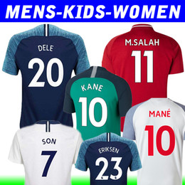 thailand 18 19 KANE soccer jersey SON DELE ERIKSEN football shirt 2019 men  and kids kit KEITA women shirt uniform 25d838860
