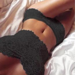 Shorts de renda sexy on-line-2019 Menina Sutiã Calças Calças Set Underwear Terno Mulheres Senhora Venda Quente Nova Sexy Corset Lace Push Up Flor Vest Top