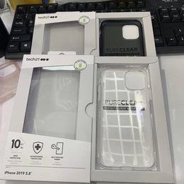 Iphone 11 Drop Защитная крышка чехол чистый ясный d3O мягкий TPU для iphone11 11Pro 11Pro макс с розничным пакетом от