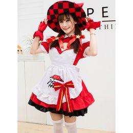 freie frau bondage dessous Rabatt Sexy Anime Cosplay König Angela Mode Magie Kleine Küche Mädchen Spiel Trend Hexe Kostüm Maid Kostüm Chefkostüm