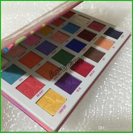 2019 palette de fard à paupières crème professionnelle Haute qualité Nouvelle maquillage Marque 24 couleurs JAW Ombre à paupières Maquillage Palette Matte Shimmer fard à paupières cosmétiques Hot