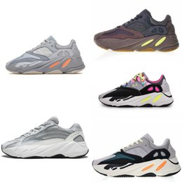 spike shoes athletics Promo Codes - Designer 700 mauve running shoes mens runner 700 new arrive wave white sneakers womens 2019 trainer athletic sport outdoor shoes US5-11.5