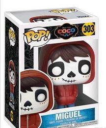 Adorable Adorable Funko Pop COCO Miguel Vinyle Action Figure Avec Boîte # 303 Cadeau Jouet Bonne Qualité ? partir de fabricateur