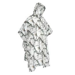 casaco de chuva para meninas Desconto Total Das Mulheres Dos Homens capa de Chuva À Prova D 'Água Com Capuz Poncho de Neve Camuflagem Meninas Casaco de Chuva Gabardina Mujer Mulheres Casaco 40A0050