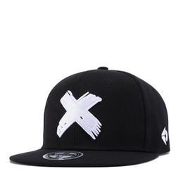 Canada Nouvelle mode visière plate pour homme femme noir chapeaux casquette de baseball traversant badge broderie réglable livraison gratuite Offre