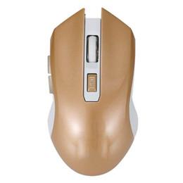 2019 botones de ratón ergonómico 2.4G USB Wireless Mouse Ergonomic Optical Laptop Computadora casual 6 botones 2400DPI Mouse rebajas botones de ratón ergonómico