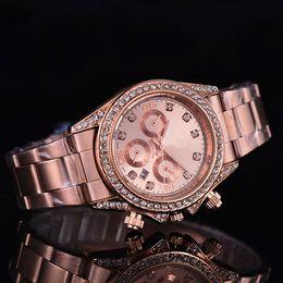 Diamantes de ginebra online-2019 relojes de lujo GINEBRA para mujer Relojes para mujer Relojes de pulsera de diseño 3 colores envío gratis 0362