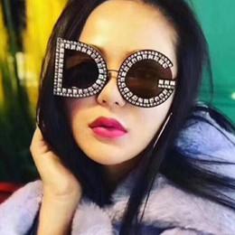 designer mens oversized óculos de sol Desconto Designer de moda óculos de sol New Womens Mens óculos de sol de alta qualidade óculos de sol de diamante de luxo Oversized óculos de sol