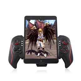 joystick bluetooth ipad Rebajas Sin hilos del juego de Bluetooth Gamepad Joystick manejar el soporte telescópico de 5-10 pulgadas para Android para el sostenedor del teléfono Sistema IOS Ipad