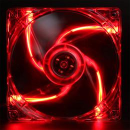 Argentina Ventilador del chasis de la computadora de 12 cm 4 luces Ventilador de refrigeración de iluminación LED Ventilador de radiador de marco transparente ultra silencioso Suministro