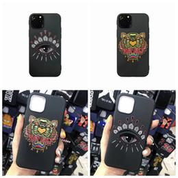 Olhos do telefone on-line-Designer marca Tiger Eyes caixa do telefone para iphone 11 Pro max X XS XR XS Max 6S 6 6plus Capa para iPhone 7 7plus 8 8plus A01