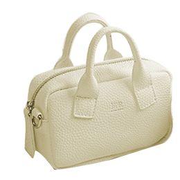 маленькие ручки для мини-сумок Скидка New Women Girls Kids Leather Mini Shoulder Phone Bag Lovely Candy Color Crossbody Small Chain Purse Clutch Top-handle Bags