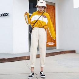 f5fef3d3 2019 jeune twain Alice Elmer Ripped Boyfriend Jeans Pour Femmes Jeans  Pantalons Femmes Mi-Taille