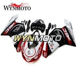 Black Red White Cowlings per 2003 2004 Ducati 999/749 Monoposto (monoposto) Carrozzeria Copri moto Plastic ABS Injection Carena da