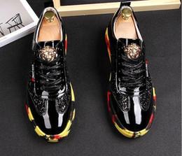 мокасины для мужчин итальянская кожа Скидка 2019 новый искусственная кожа свободного покроя вождение оксфорды ну вечеринку квартиры обувь мужская мокасины мокасины итальянские мужчины свадебная обувь BM413