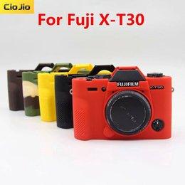 2019 fuji fotocamera polaroid Copertura molle in gomma siliconica caso della pagina della protezione della pelle per fotocamera Fujifilm Fuji XT30 XT30 mirrorless
