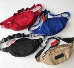 18SS Bolso de cintura 3M 44º Sup Unisex Fanny Pack Marca Lienzo de moda Bolso de cinturón de hip-hop Hombres Mensajero Bolsos 17AW Pequeños Waistpacks DHL gratis desde fabricantes