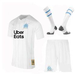 sockenhemd Rabatt 19 20 Olympique de Marseille Trikot für Erwachsene 2019 202 Marseille Maillot De Foot Trikots THAUVIN Trikots für Erwachsene mit Socken