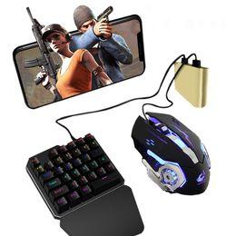 Tastiera PUBG Telefono Mobile Mouse Game Controller Battledock Converter da borse portafoglio per bambini fornitori