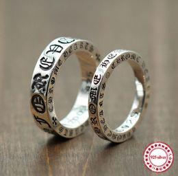 anelli tailandesi Sconti Anello in argento sterling 925 per creare anelli personalizzati Forever Coppia in argento thailandese retrò vecchio stile unico per inviare un regalo