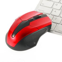 2019 rote usb-maus 1200-1600DPI Rot Schwarz Optisch Intelligente Netzwerkfunktionen 6 Tasten USB Wireless Optical 2.4GHz Gaming Mouse Mäuse rabatt rote usb-maus