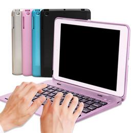 2019 складной клавиатура bluetooth ipad mini Новые прибытия складная беспроводная клавиатура Bluetooth чехол с подставкой для iPad Mini 1 2 3 дешево складной клавиатура bluetooth ipad mini