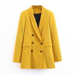 veste tailleur femme Promotion Classique Couleur Unie Costume Veste Femmes De Mode À Manches Longues Costumes Femmes Élégant Sur Mesure Col Veste Costumes Femmes Dames BZ02