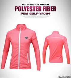 Женская водонепроницаемая куртка для гольфа с длинным рукавом Легкая ветрозащитная куртка Тонкая куртка Женская ультратонкая ультрафиолетовая одежда для гольфа Welcome Wholesale Pur от